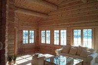 Как установить оконные стеклопакеты в деревянном доме