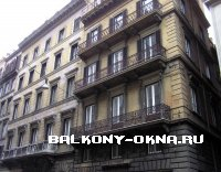 Балконы в разных архитектурных стилях