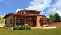 Проекты современных деревянных домов