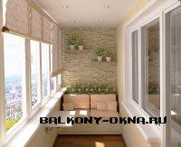 Благоустраиваем балкон