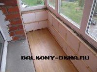 Чем утеплять балкон